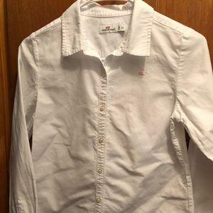 Vineyard Vines Oxford Girls Uniform Shirt